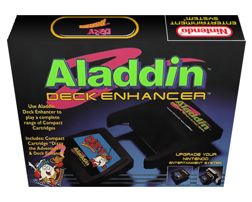 Dizzy the Adventurer (USA) (Aladdin Compact Cartridge) (Unl)