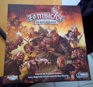 Zombicide Black Plague : unboxing
