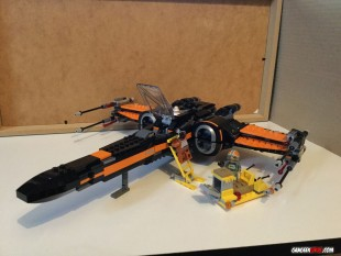 Poe's X-Wing Fighter – Lego Star Wars