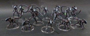 AvP: The Hunt Begins. Peindre les Aliens rapidement.