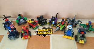 Nouvelle gamme Lego Super Heroes : Mighty Micros