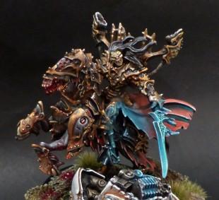 Goreshade Lord of Ruin : peinture pour le jeu et l'exposition
