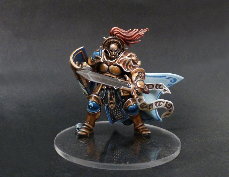 Les travaux d'Ivankaiser : ZOMBICIDE, Gohan et sa bande ! Knight-questor-0