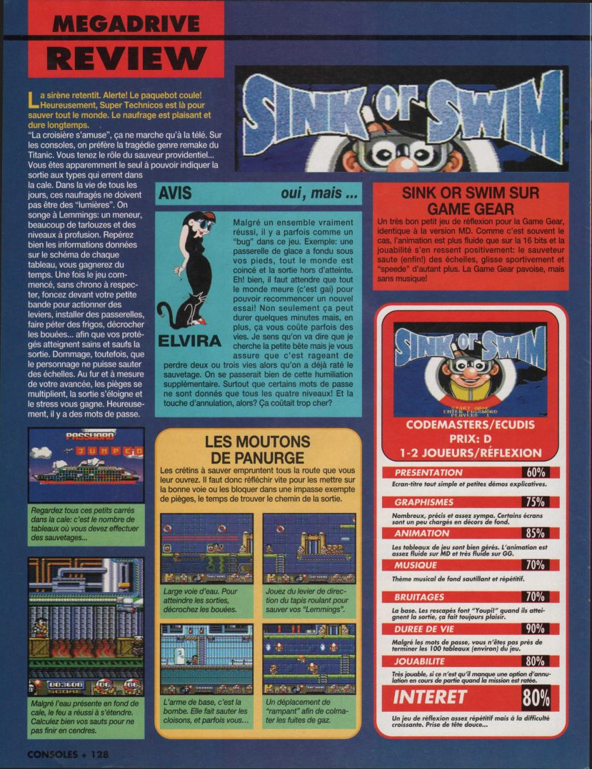 Consoles+ 035 - Page 128 (1994-09)