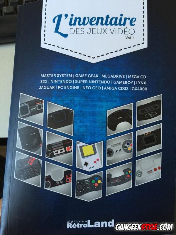 inventaire des jeux vidéo
