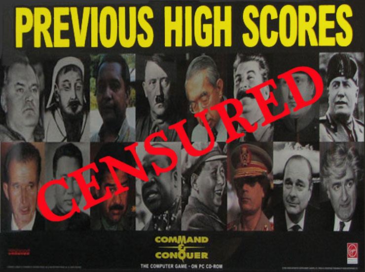 Publicité-command-conquer-chirac-dictateur