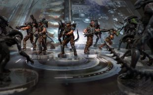 AvP: The Hunt Begins. Les Marines !