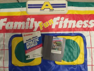 Athletic world avec le tapis Family Fun Fitness – Nintendo