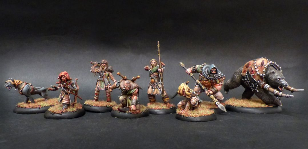 Guild Ball hunter's Guild