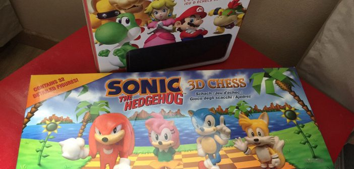 Super Mario Chess VS Sonic The Hedgehog 3D Chess : FIGHT !