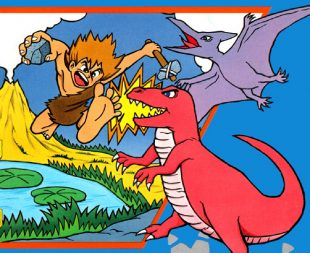 Adventures of Dino Riki – Nes