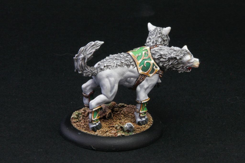 Winter Argus, light warbeast Orboros