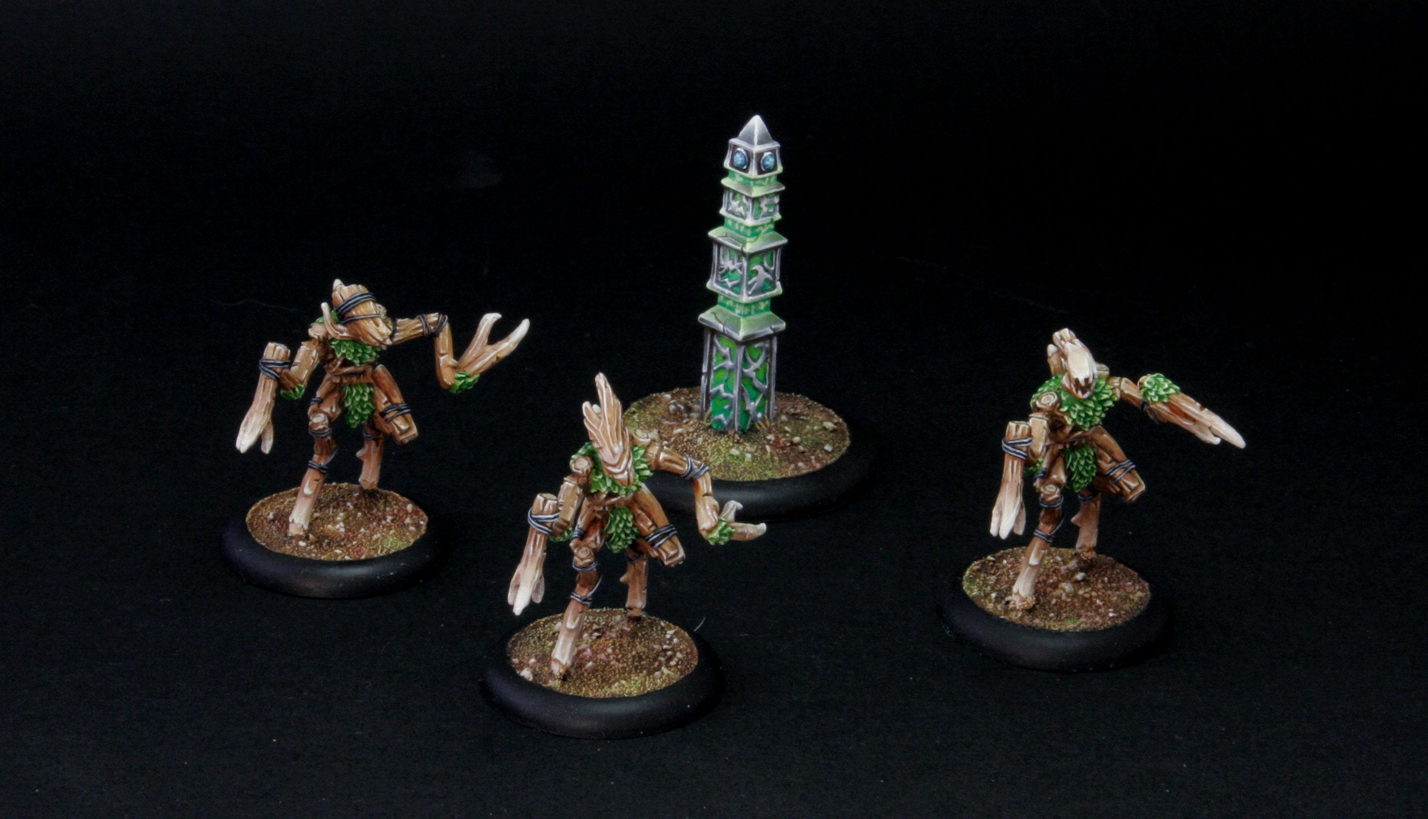 sentry stone & mannikins, unité de support