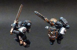 Space Marine : Comment peindre un Black Templar rapidement !
