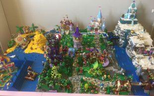 Maquette Lego Princesses Disney