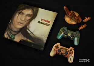 Playstation 3 Custom Tomb Raider by Anark Grafik