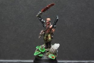 Les figurines de slave of paint