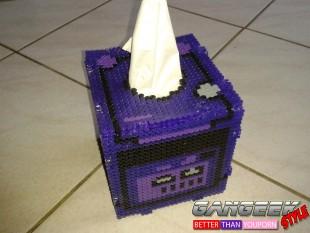 La boite à mouchoirs Pixel Art par Kementari