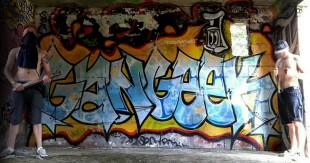 Le Graffiti avec FreshPartnerz