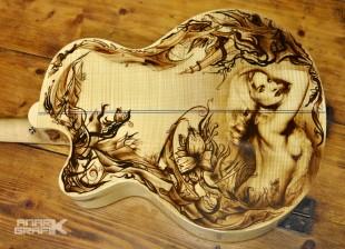 Guitare personnalisée by Anark Grafik