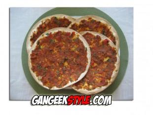 Lahmajoun, la pizza turque.