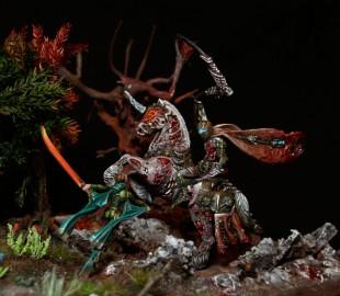 Diorama : Loren défie Lord Death!