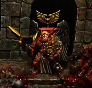 Diorama: la rage noire des Blood Angels