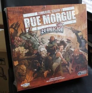 Unboxing Zombicide Rue Morgue