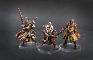 Zombicide Black Plague : Théo, Arnaud et Tucker