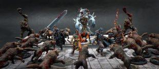 Zombicide : peindre les Zombies Wolfz rapidement !