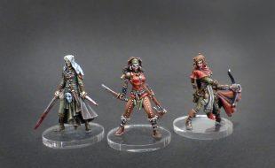 Zombicide Black Plague : Morrigan, Sylvia et Ariane