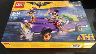 The Joker Notorious Lowrider – Lego Batman the movie 70906