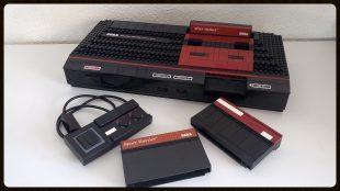 La Sega Master System en Lego d'Old School Brick